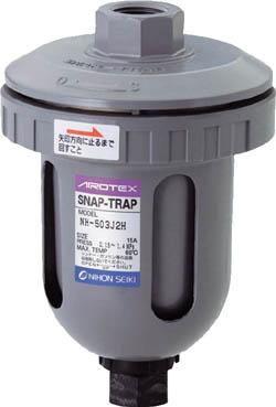 日本精器 ドレントラップ中圧用(1個) NH503J2H 2925869