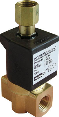 クロダ 流体制御用直動形3ポートバルブ(1台) WV131S222GVI1S8P 3611817