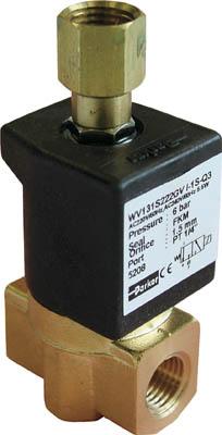 クロダ 流体制御用直動形3ポートバルブ(1台) WV131S222GVI1SC211W 3611825