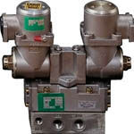 CKD パイロット式 防爆形5ポート弁 4Fシリーズ(ダブルソレノイド)(1台) 4F520E15TPAC100V 3768040