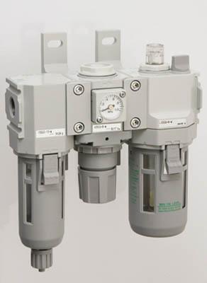 CKD モジュラータイプセレックスFRL 2000シリーズ(1S) C200010WF1 3768511