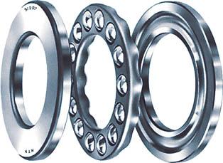 NTN A 小径小形ボールベアリング(1個) 51220 2637618