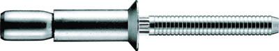 POP ウルトラグリップリベットΦ6.4スチール皿頭(1000本)(1箱) SK8120UG 3518574