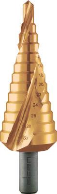 ALPEN 2枚刃スパイラルステップドリル 37mm チタン(1本) 72800729 7666314
