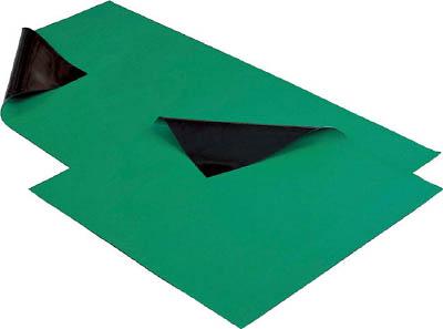 HOZAN 導電性カラーマット グリーン(1枚) F703 3707776