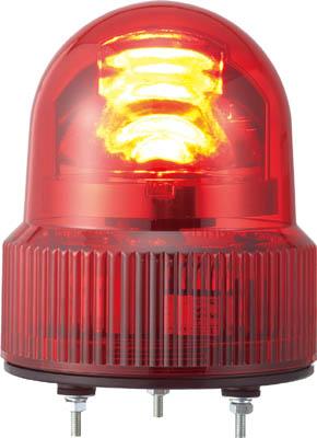 パトライト SKHE型 LED回転灯 Φ118 オールプラスチックタイプ(1台) SKHE100Y 3240011