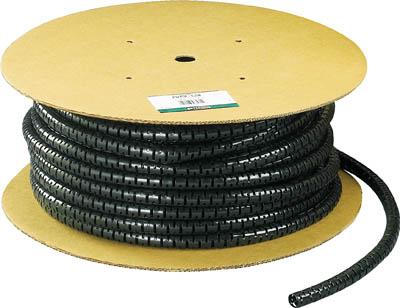 パンドウイット 電線保護材 パンラップ 黒 PW50FT20 2953722
