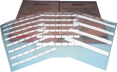 パンドウイット レーザープリンタ用セルフラミネートラベル 白 S100X150YAJ 4754824