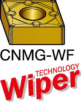 サンドビック T-Max P 旋削用ネガ・チップ 1525(10個) CNMG120408WF 1269224