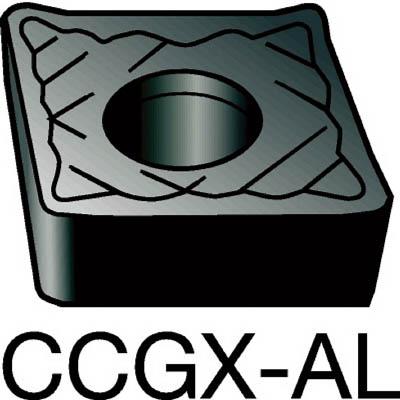 サンドビック コロターン107 旋削用ポジ・チップ H10(10個) CCGX120404AL 1277294