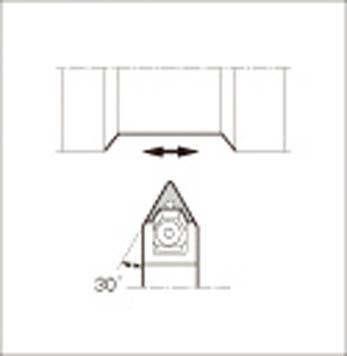 京セラ 外径加工用ホルダ(1本) WTENN2525M16N 1425960