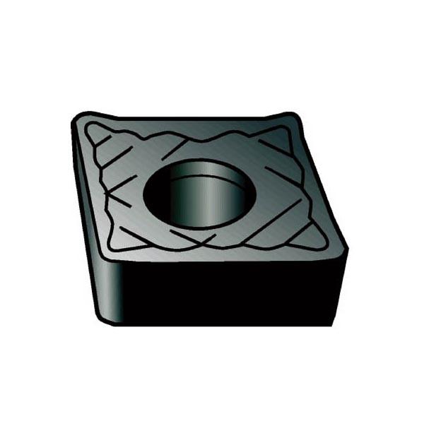 サンドビック コロターン107 旋削用ポジ・チップ H10(10個) CCGX060202AL 1561278