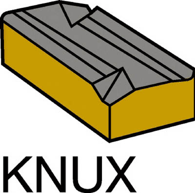 サンドビック T-Max 旋削用ネガ・チップ S1P(10個) KNUX160405R11 1736621