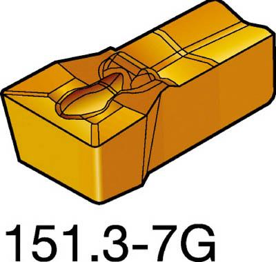 サンドビック T-Max Q-カット 突切り・溝入れチップ 2135(10個) N151.3400307G 2488060