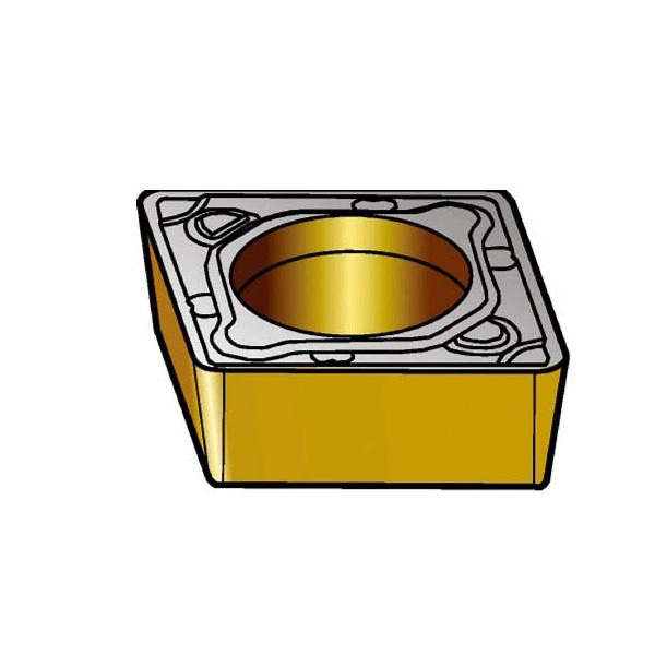 サンドビック コロターン107 旋削用ポジ・チップ 4235(10個) CCMT120408PR 3391540
