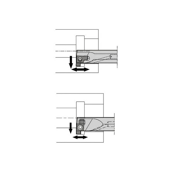 【爆売りセール開催中!】 京セラ SIGER4032EEH 3401791:イチネンネット 溝入れ用ホルダ(1本)-DIY・工具