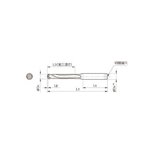 京セラ ドリル用ホルダ(1本) SS12DRC115M5 3576558