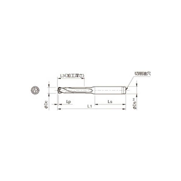 京セラ ドリル用ホルダ(1本) SS16DRC145M3 3576248