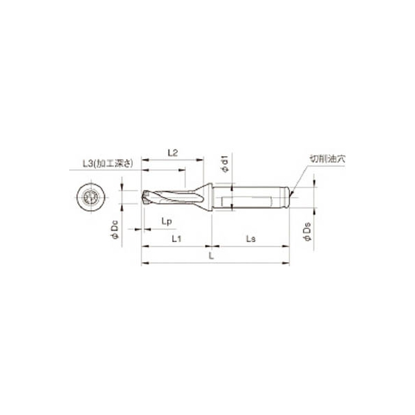 京セラ ドリル用ホルダ(1本) SF12DRC085M3 3577112