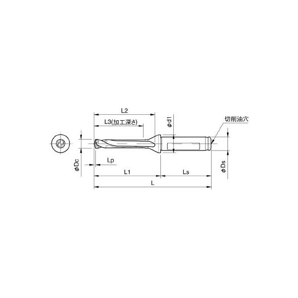 定番  京セラ ドリル用ホルダ(1本) 3576884:イチネンネット SF16DRC125M5-DIY・工具