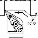 京セラ 外径加工用ホルダ(1本) DVPNR2525M16 6477259