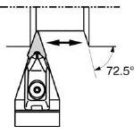 京セラ 外径加工用ホルダ(1本) DVVNN2525M16 3580407