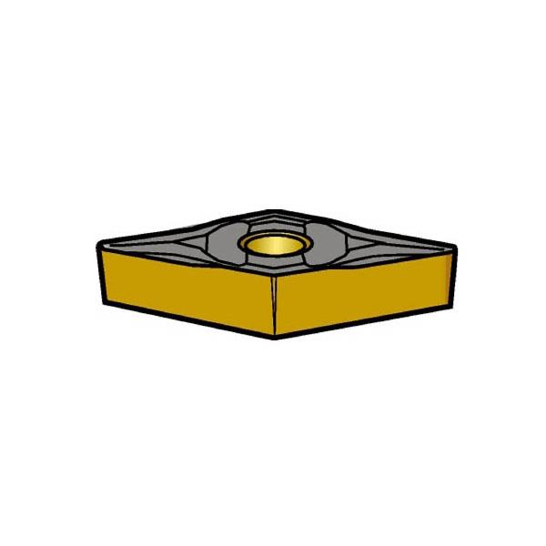 サンドビック コロターン107 旋削用ポジ・チップ 1515(10個) VBMT110308PF 3584381