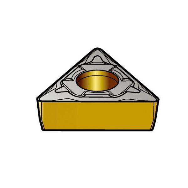 サンドビック コロターン107 旋削用ポジ・チップ 1515(10個) TCMT110304PF 3585964