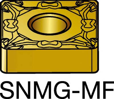 サンドビック T-Max P 旋削用ネガ・チップ 4235(10個) SNMG120408MF 3394115