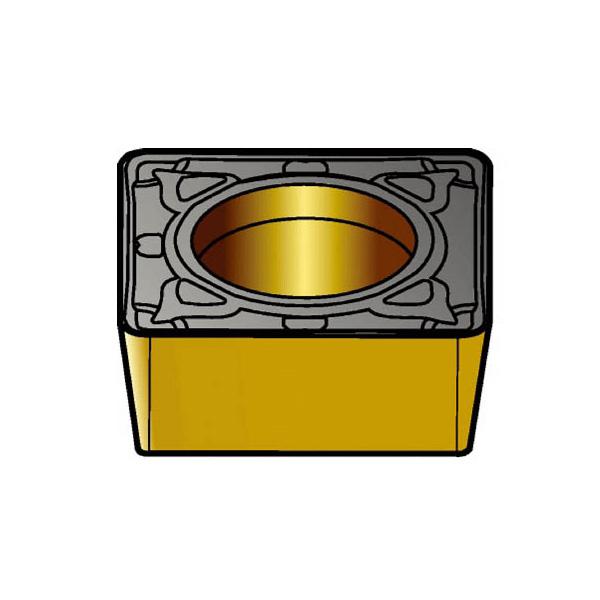 サンドビック コロターン107 旋削用ポジ・チップ 4235(10個) SCMT120412PR 3393992
