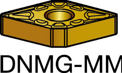 サンドビック T-Max P 旋削用ネガ・チップ 1115(10個) DNMG150608MM 3590046