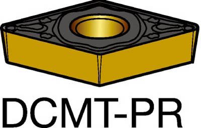 サンドビック コロターン107 旋削用ポジ・チップ 4235(10個) DCMT11T308PR 3392538