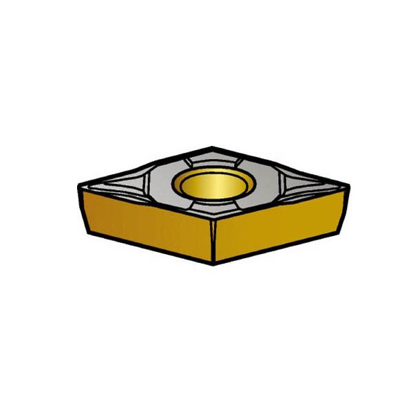 サンドビック コロターン107 旋削用ポジ・チップ 1515(10個) DCMT11T302PF 3590941
