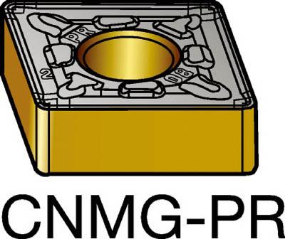サンドビック T-Max P 旋削用ネガ・チップ 4235(10個) CNMG120408PR 3345866