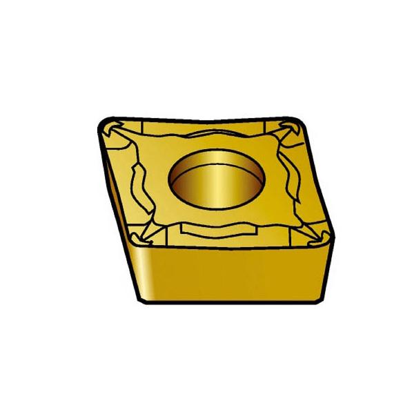【代引不可】サンドビック コロターン107 旋削用ポジ・チップ 5015(10個) CCGT09T302UM 6033521