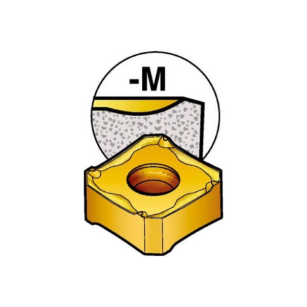 サンドビック コロミル345用チップ 3220(10個) 345R1305MKM 3625621