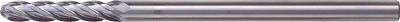 ユニオンツール 超硬エンドミル ボール R4×刃長40(1本) CGB4080 4302451