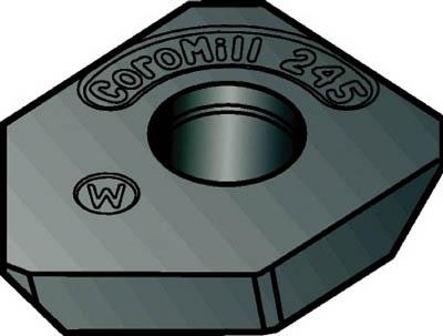 【代引不可】サンドビック コロミル245用ワイパーチップ K15W(10個) R24512T3EWK 6028055
