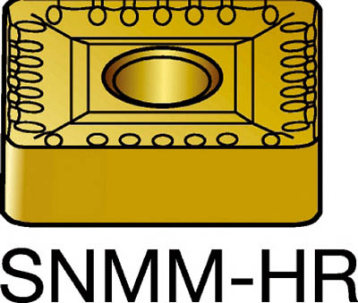 サンドビック T-Max P 旋削用ネガ・チップ 4235(10個) SNMM190616HR 3346331