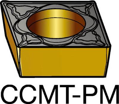 サンドビック コロターン107 旋削用ポジ・チップ 4235(10個) CCMT120408PM 3391531