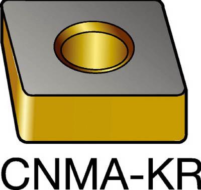 【代引不可】サンドビック T-Max P 旋削用ネガ・チップ 3205(10個) CNMA120412KR 6040985