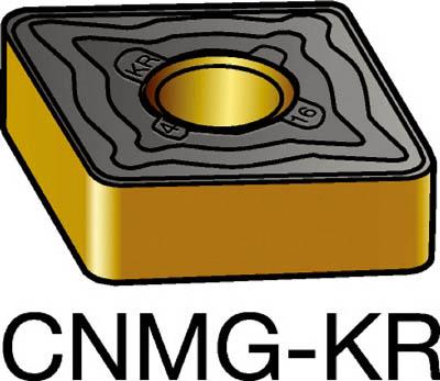 【代引不可】サンドビック T-Max P 旋削用ネガ・チップ 3210(10個) CNMG160612KR 6042074