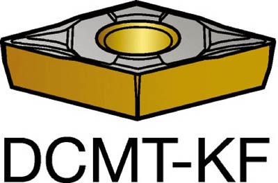 サンドビック コロターン107 旋削用ポジ・チップ H13A(10個) DCMT11T302KF 6050786