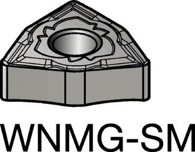 サンドビック T-Max P 旋削用ネガ・チップ(10個) WNMG080408SMR 6059091