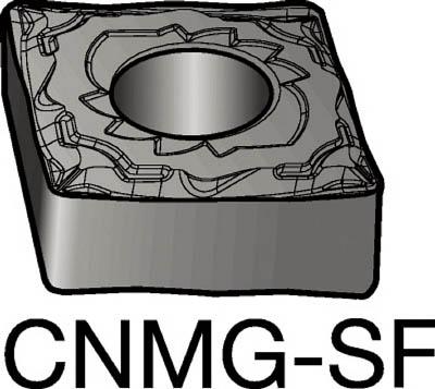 サンドビック T-Max P 旋削用ネガ・チップ 1125(10個) CNMG120404SF 6065040