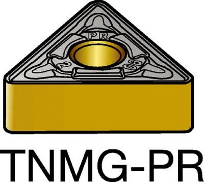 サンドビック T-Max P 旋削用ネガ・チップ 4235(10個) TNMG160412PR 3394867