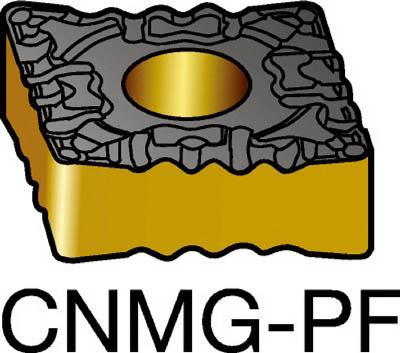 サンドビック T-Max P 旋削用ネガ・チップ 1515(10個) CNMG120404PF 3592197