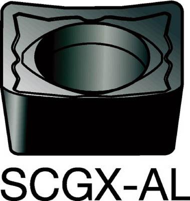 【代引不可】サンドビック コロターン107 旋削用ポジ・チップ H10(10個) SCGX09T308AL 6076084