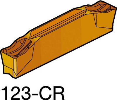 サンドビック コロカット2 突切り・溝入れチップ 1145(10個) N123H204000003CR 3626466