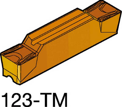 サンドビック コロカット2 突切り・溝入れチップ H13A(10個) N123H204000004TM 6080081